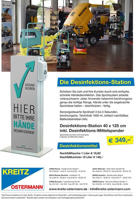 Desinfektions-Station